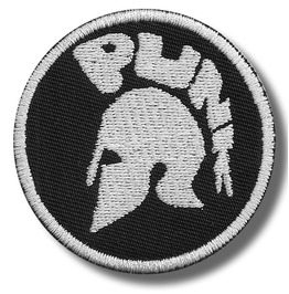 Punk Embroidered Patch 3,2 X 3,2 Inch
