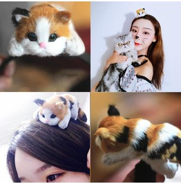 Cat Hairband / Diadema Gato Wh401