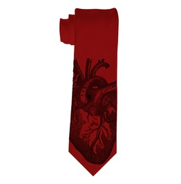 Men's Anatomical Heart Tie