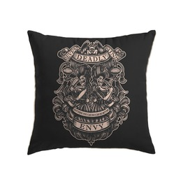 Seven Deadly Sins Throw Pillow Envy