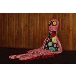 Voodoo Doll Ragged Prudence Mixed Media
