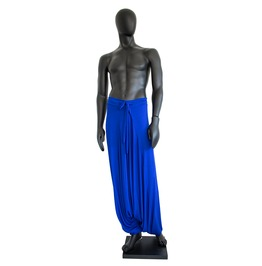 Blue Men's Harem Pants Baggy Sweatpants
