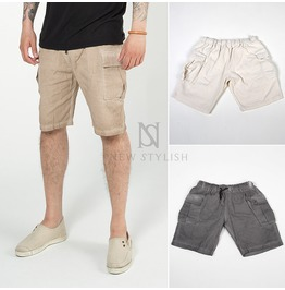 Grunge Cargo Pocket Shorts 87