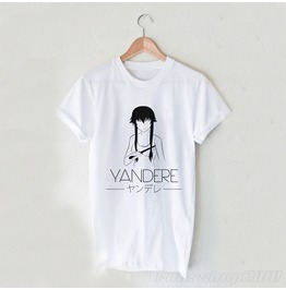 Yandere Harajuku Anime Unisex T Shirt