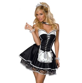 Sexy Halloween Maid Costume Women's