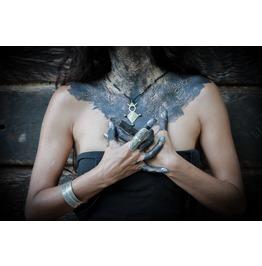 Talisman Arcane, Love Necklace, African Necklace, Cross Pendant,