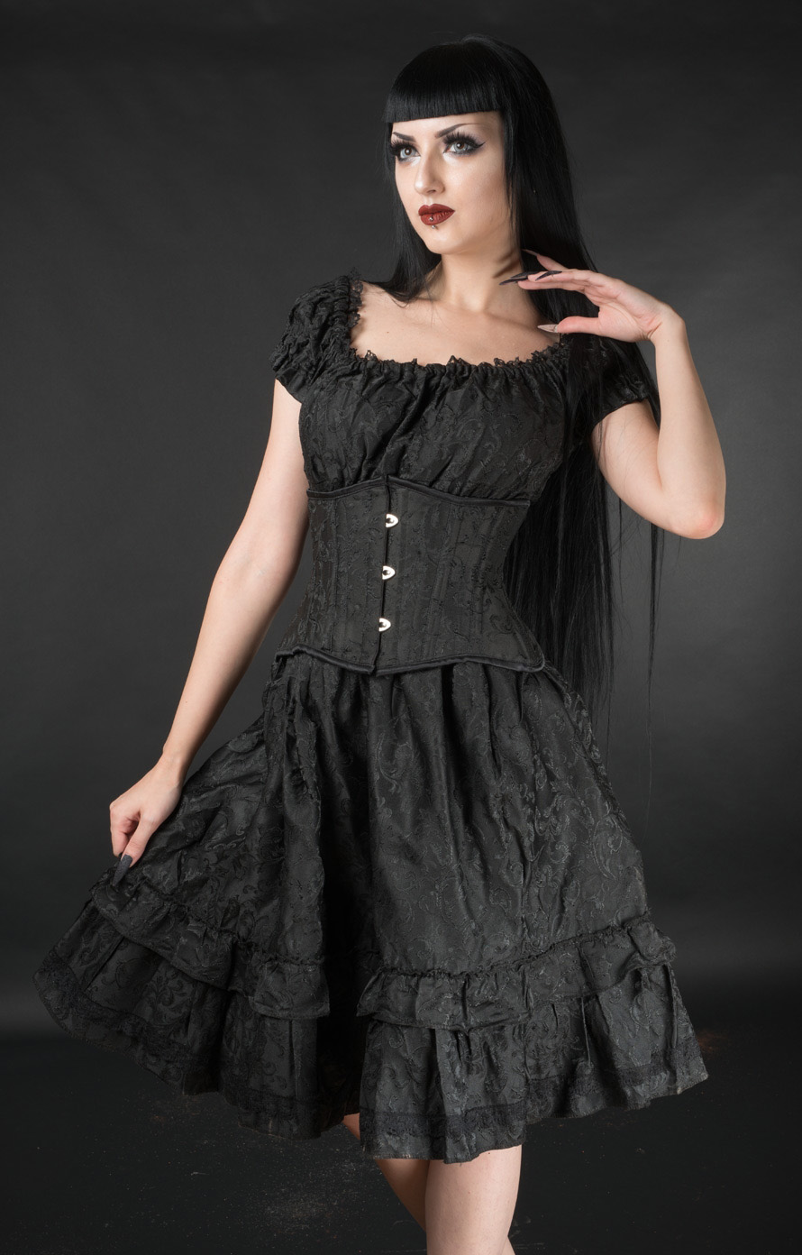 rebelsmarket_black_brocade_gothic_rockabilly_ruffle_corset_dress_6_to_ship_worldwide_dresses_3.jpg