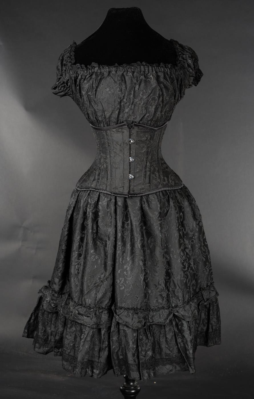 rebelsmarket_black_brocade_gothic_rockabilly_ruffle_corset_dress_6_to_ship_worldwide_dresses_2.jpg