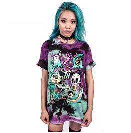 Skull Story 1 Skull Print Unisex T Shirt Mens Women's S 3 Xl