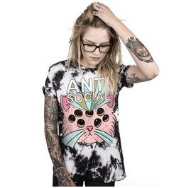 Anti Social Skull Story 2 Print Unisex T Shirt Womens Mens S 3 Xl