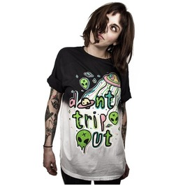 Rebelsmarket dont trip out skull story 3 skull print unisex t shirt male female s 3 xl t shirts 3