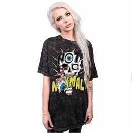 Normal Skull Story 13 Printed T Shirt Unisex Womens Mens S 3 Xl