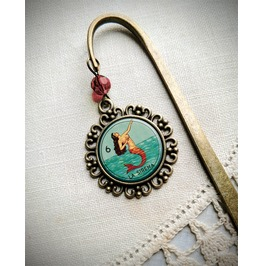 La Sirena Brass Bookmark