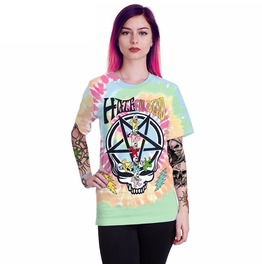 Hateful Dead Skull Story 16 T Shirt Top Womens