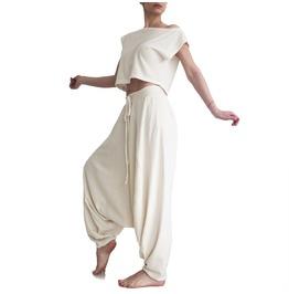 White Pants, Harem Pants, Womens Pants, Boho Pants, Aladdin Pants