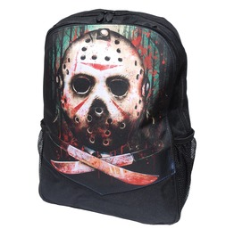 Jason Vorhees Backpack Rucksack Bag Laptop Tablet Holder Horror