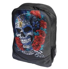 Mexican Sugar Skull Backpack Rucksack Bag Laptop Tablet Holder Gothic