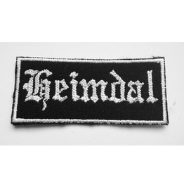Heimdal Vikings God, Guardian Of Asgard, Embroidered Patch 2,8 X 1,2 Inch