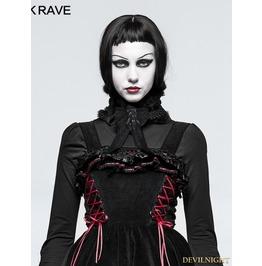 Black Gothic Lolita Collars/Headwear Ls 046