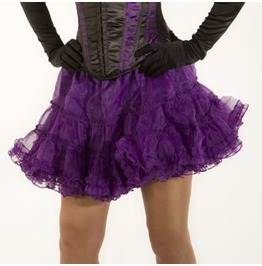 Mini Organza Purple Petticoat