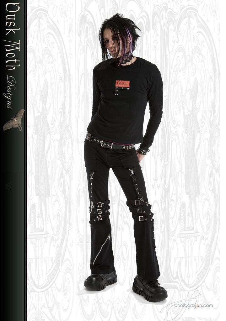 Chain bondage pants