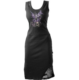 Gothic Printed Dress