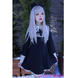 Gothic Lolita Harajuku Dress School Girl Womens