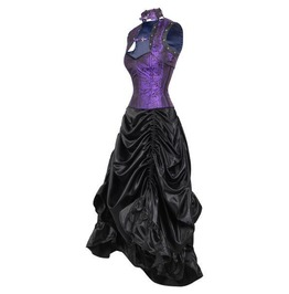 Tinker's Tale Corset Dress Naked Violet