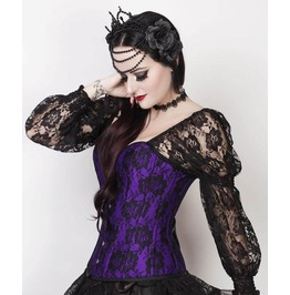 Lady In Lace Violet