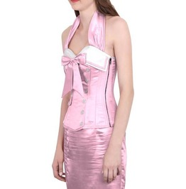 Happy Sailor Halter Corset Pink Frosting