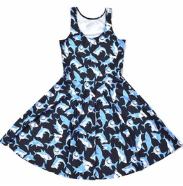 Shark Dress / Vestido Tiburones Wh406