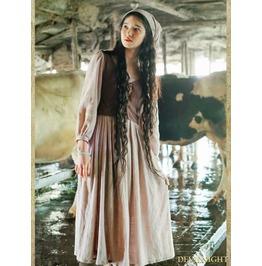 Vintage Medieval Two Piece Set Dress Vid 0008