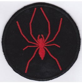 Spider Embroidered Patch, Buy3 Get4, 3,2 X 3,2 Inch