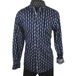 Men's Abbey Road Dress Shirt Navy
