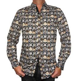 Men's Every Rose Thorn Dress Shirt Black