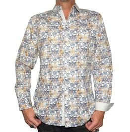 Men's Every Rose Thorn Dress Shirt White