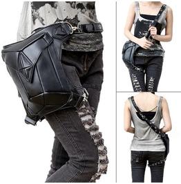 Women Steampunk Bag Waist Leg Hip Holster Purse Pouch Belt Coin Purse Bag