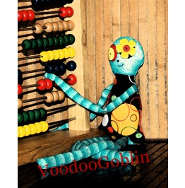 Voodoo Doll Ragged Delilah Mixed Media