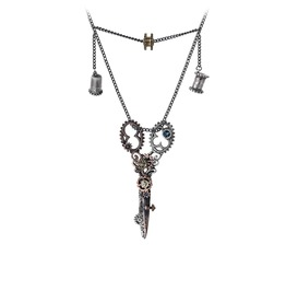 Pinkington's Precision Warp Dissection Shears Necklace