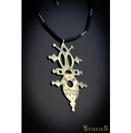 Necklace Tribe , Tuareg Cross, Boho Fashion, Jewellery, Necklace Boho,