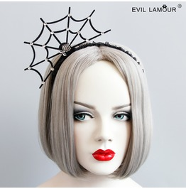 Handmade Black Gothic Vampire Spider Hair Accessories Fg 82