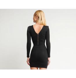 Modalllab V Back Velocity Superfit Dress