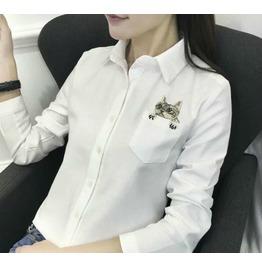 Cat Shirt / Camisa Gato Wh418