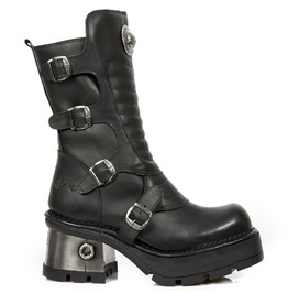 New Rock Seora Buckle Closure Boots