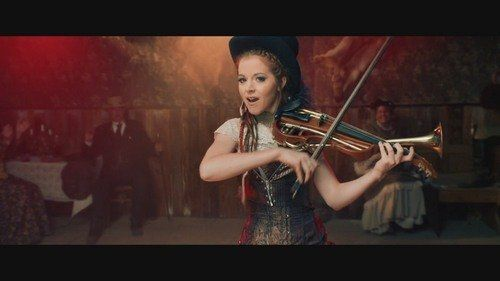 See lindsey stirlings new steampunk inspired music video