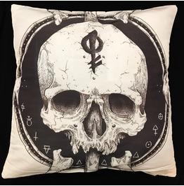 Horror Skull Pillow Cover