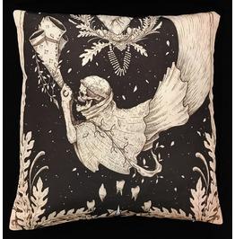 Horror Skeleton Angel Pillow Cover