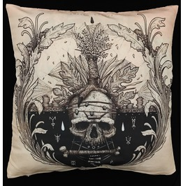 Horror Life And Death Pillow Cover