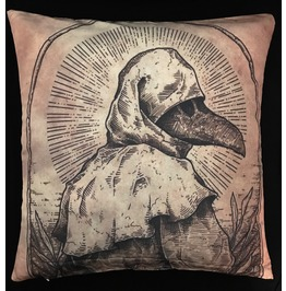 Horror Plague Mask Doctor Pillow Cover