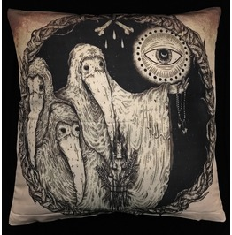 Horror 19th Century Doctors Pillow Cover